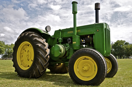 MADISON,SOUTH DAKOTA, August 22, 2014 ; Each year on the 3rd weekend of August Prairie Village Heritage Days come alive with display of old tractors, farm machinery, and the life of early South Dakotans is exhibited