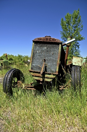 marion: BARNESVILLE, MINNESOTA, June 15, 2016:  The Huber tractor was produced from 1892-1942 by the Huber Manufacturing Company of Marion, Ohio