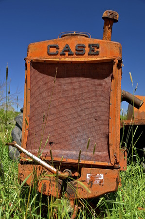 existed: BARNESVILLE,  MINNESOTA, June 15, 2016: The Case Corporation was a manufacturer of construction equipment and agricultural equipment, founded by Jerome I. Case, it existed for over 150 years. Editorial