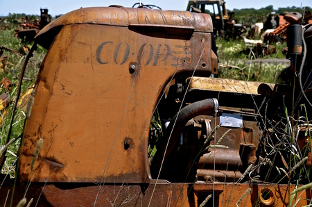 BARNESVILLE,  MINNESOTA, June 15, 2016:  The CO-OP brand of tractors was born out of a desire by farmers to reduce cost through collective ownership of machinery production and was eventually bought out by Cockshutt. Editorial
