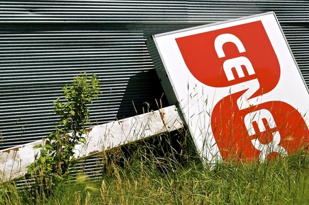 ranchers: Barnesville, MINNESOTA-June 19, 2016: Cenex brand fuel is owned by CHS Inc, a Fortune 100 business owned by United States agricultural cooperatives, farmers, ranchers, and thousands of preferred stock holders. Editorial