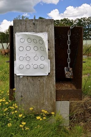 その場しのぎの射撃はサルベージと廃品前のターゲットの練習の結果を表示する内にあります。