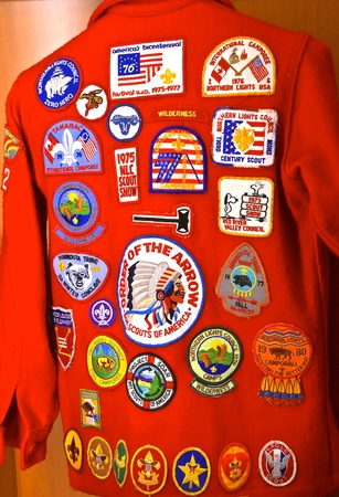 FARGO, NORTH DAKOTA, May 17, 2019:  The patches represents the The Boy Scouts of America (BSA) founded in 1910 and is the largest scouting organization n the United States,