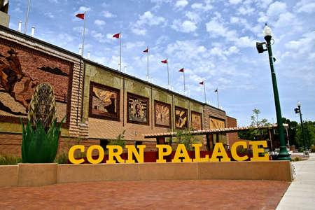 MITCHELL, SOUTH DAKOTA, June 25, 2020: The Mitchell Corn Palace, is a multi-purpose arena/facility located in Mitchell, South Dakota an was built in 1925.