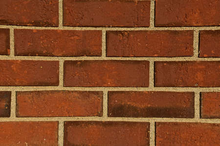 Exterior bricks on the outside wall of a building