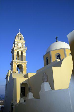 Roman Catholic Church on the Island of Santorini, Greece; October 2005