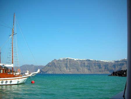 Santorini, Greece, View from the Caldera