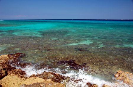 Beautiful Waters de la Riviera Maya, Mexique Banque d'images