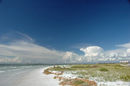 the gulf: Tiger Tail Beach at Marcos (Marco) Island, Florida