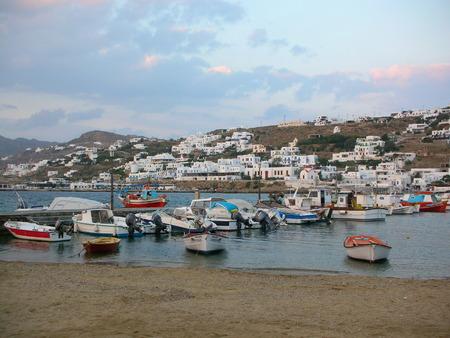 Harbor � Mykonos, Gr�ce