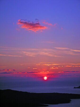 Sunset on Santorini, Greece Stock Photo - 1719816