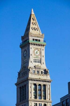 Customs House Clock Tower, Boston, MA