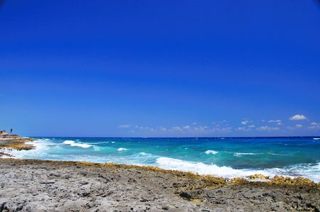 Mayan Riviera Coastline photo