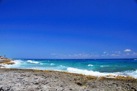 Mayan Riviera Coastline Stock Photo - 3726381