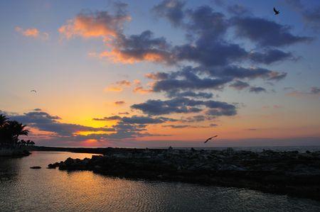 Sunrise Along the Mayan Riviera #3 photo