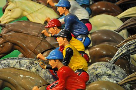 Horse Race at an Arcade #3