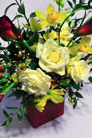Saint-Valentin Bouquet # 1 Banque d'images