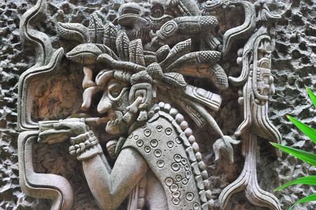 Maya secours # 2 Banque d'images