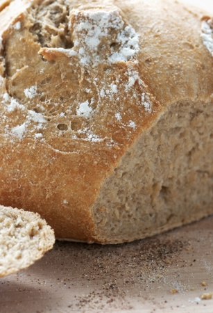 Golden crusty French bread fresh out of the oven Stock Photo - 13042616