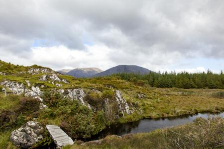 connemara: The rugged landscape of Connemara, Ireland