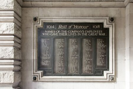 honour: Monument to the war dead who served on the British Railways