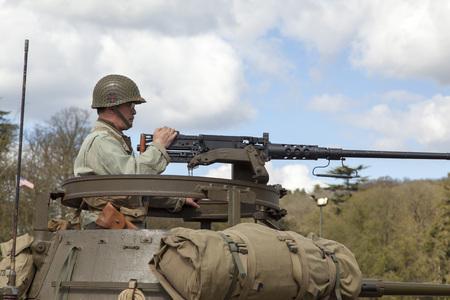 ww2: WW2 re-enactment battle