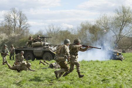 world war two: World War Two re-enactment Editorial