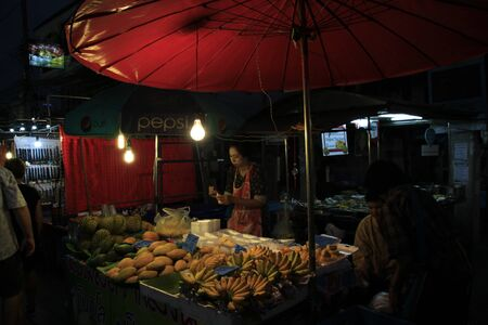 night market: Night Market in Hau Hin, Thailand