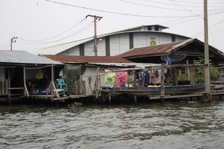 slum: Slum property in Bangkok