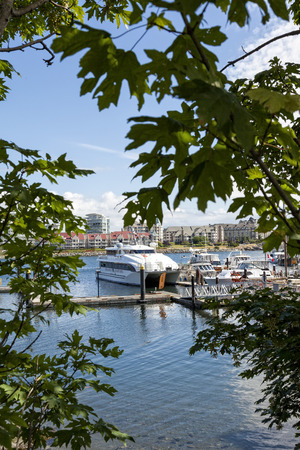Fishermans wharf, Victoria, British Columbia