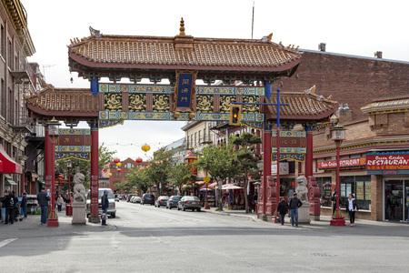 Chinatown, Victoria, Vancouver Island