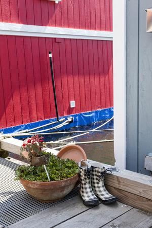Fishermans Wharf, Victoria, Vancouver Island, British Columbia