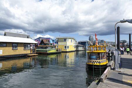 wharf: Fishermans Wharf, Victoria, Vancouver Island, British Columbia