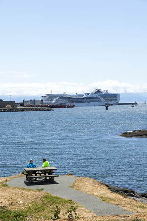 harbour of Victoria, British Columbia