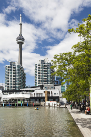 front of: Water front, Toronto Editorial