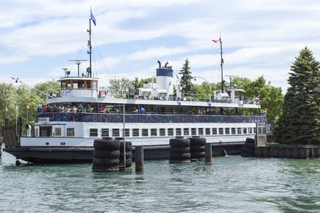 Ferry at Toronto Islands