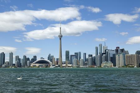 Toronto skyline Editorial