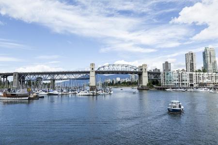 false: false Creek, Granville island, Vancouver