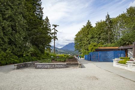 Prospect Point, Stanley park, Vancouver. BC.