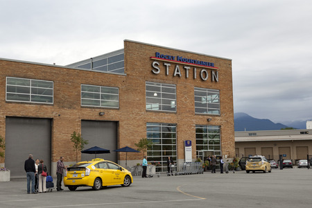 Rocky Mountaineer station - Vancouver Editorial