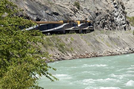 Rocky Mountaineer train - external Editorial