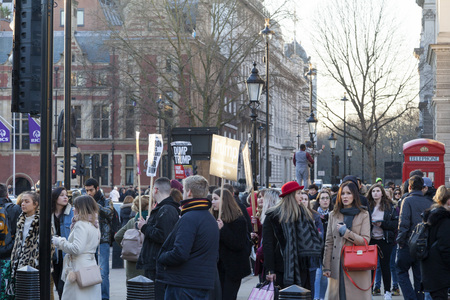 Womens march against Donald Trump, London January 21, 2017