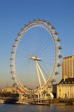London Eye on the South Bank, London Editorial