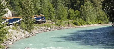 Rocky Mountaineer Train in British Columbia, Canada