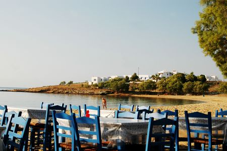 dining in the greek islands photo