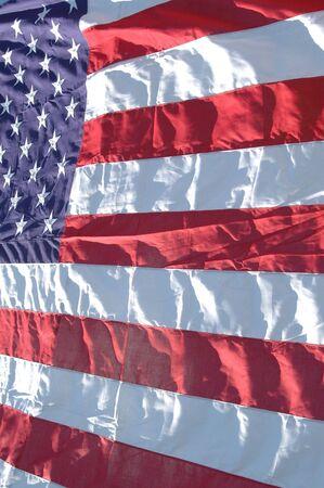 vj: bandiera degli Stati Uniti e in grassetto luminoso pieno frame