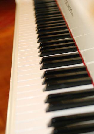 a piano keyboard Standard-Bild