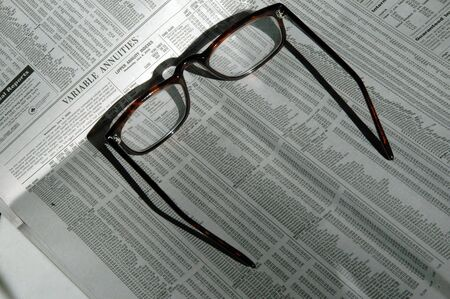 variable: variable annuities with reading glasses