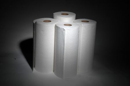 4 rolls of paper towels #4 Stock Photo - 220278