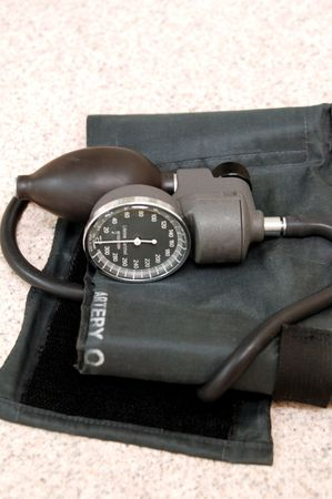 systolic: blood pressure tester Stock Photo
